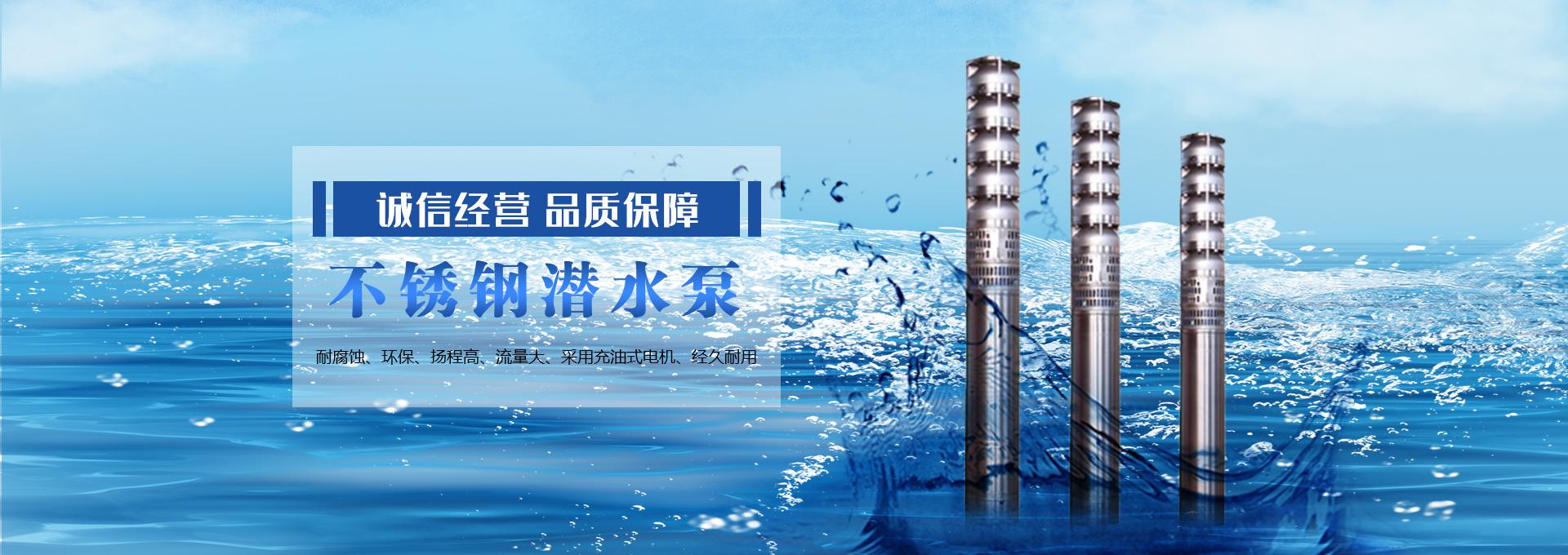 不锈钢潜水泵